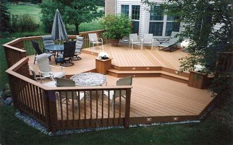 deck trends 2017 small backyard designs landscape with deck ideas for