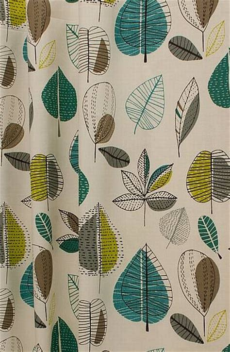 63 Inch Curtains Maple Teal Made To Measure Curtains