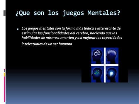 Las Imagenes Mentales Son | practica de tics juegos mentales