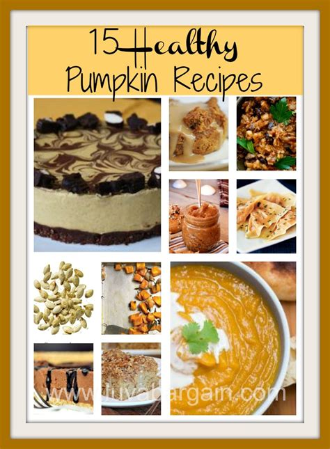 15 healthy pumpkin recipes crystalandcomp com