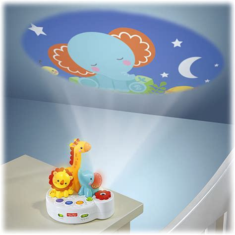 Light Projector For Baby by Rainforest Friends 4 In 1 Projection Soother