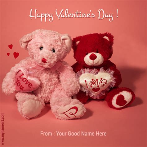 teddy valentines day happy s day wishes with teddy image