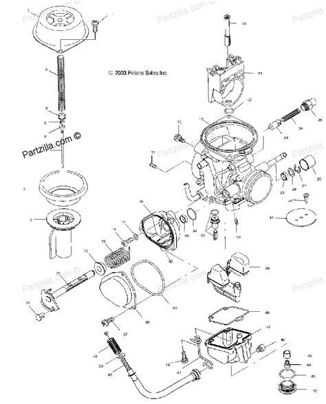 polaris sportsman 500 parts diagram polaris atv parts 2004 a04ch50aq sportsman 500 carburetor