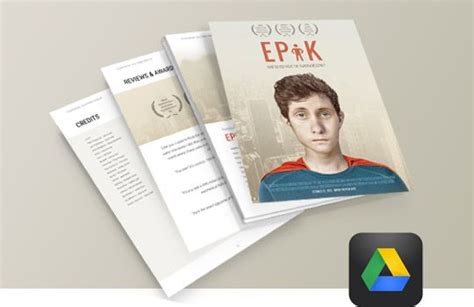 Epk Tutorial And A New Electronic Press Kit Template Filmmaking Production Document Templates Epk Template Psd