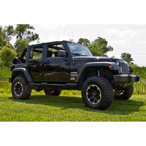 2018 jeep wrangler lifted jks manufacturing ec100k wrangler jk suspension lift kit 3