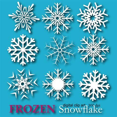 frozen snowflake clip art frozen snowflake clipart snowflake digital paper edible