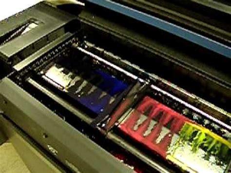 inkjet printable vinyl youtube colorspan 72s solvent inkjet printer demo 2 printing