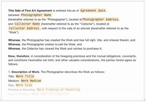 a collection of free sle forms for photographers