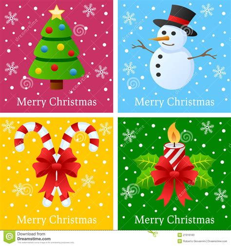 merry christmas cards stock photos image 21916183