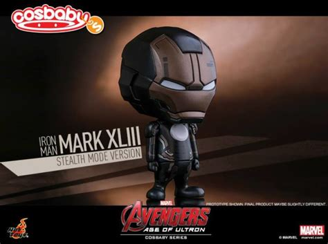 exclusive toys stealth iron 43 cosbaby marvel news