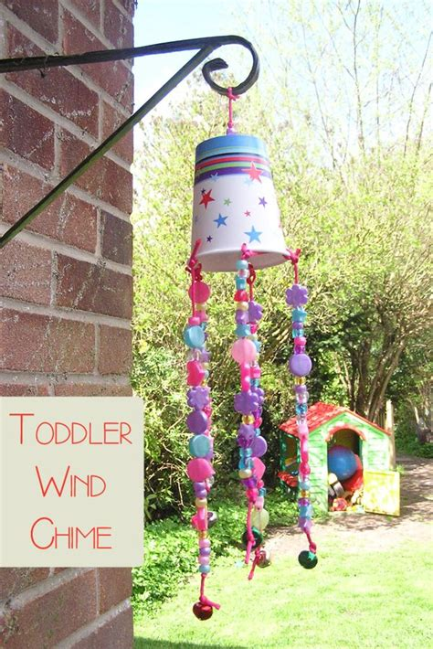 wind chime craft for toddler craft wind chime