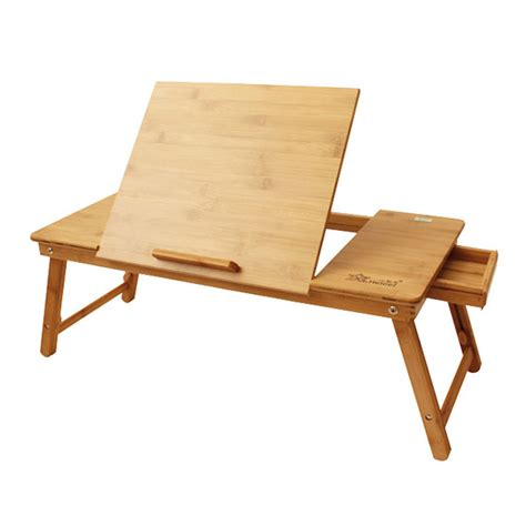 Laptop Sofa Desk Laptop Desk Table Note Book Stand Bed Sofa Tray Portable Folding Bamboo Ebay