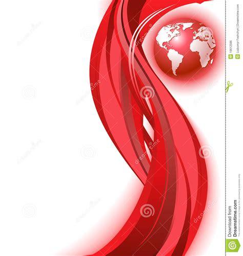 imagenes abstractas rojo fondo rojo de la onda de la correspondencia de mundo del