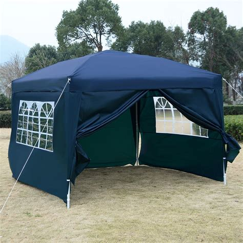 pop up awning tent 10 x 10 ez pop up tent canopy gazebo
