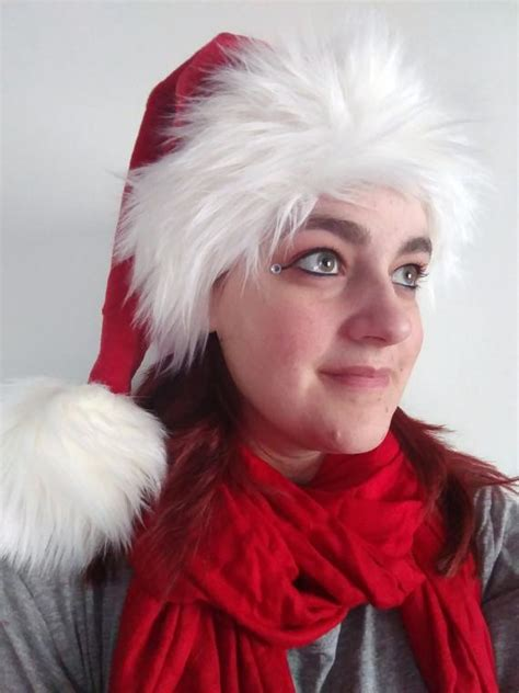 luxury santa hat sold santa hat luxury faux fur available made to order