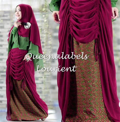 Baju Muslim 2015 model baju muslim batik terbaru 2015