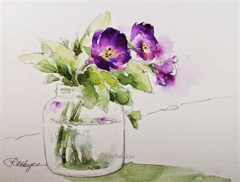 watercolor paintings by roseann