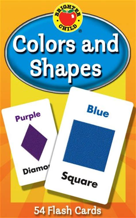 colors and shapes flash cards brighter child flash cards 087577923895 toolfanatic com