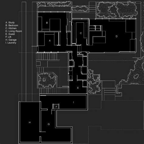 Richard Neutra House Plans Vdl Ii Research House Plan Richard Neutra Richard Neutra