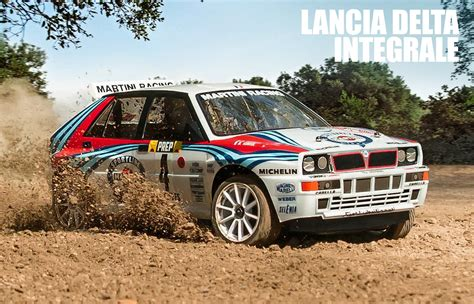 Lancia Delta Kit Car Mst Lancia Delta Integrale Rally Rtr Mrc Plaza