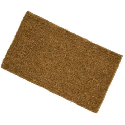 Door Mats To Size Budget Low Profile Coir Doormat Make An Entrance The