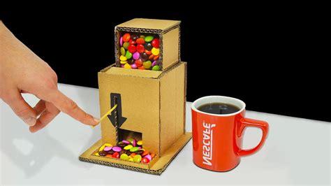 candy machine  cardboard youtube