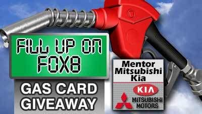 Gas Sweepstakes - winner revealed in fill up on fox 8 giveway fox8 com
