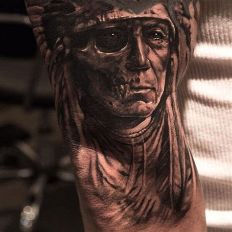 Top 10 Cool Native American Tattoos Tattoos Of Indian Chiefs 2