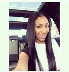 center part weave hairstyles 1000 images about silky straight on pinterest straight