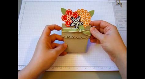 s day flower pot card 3d template 30 and creative diy s day cards every child