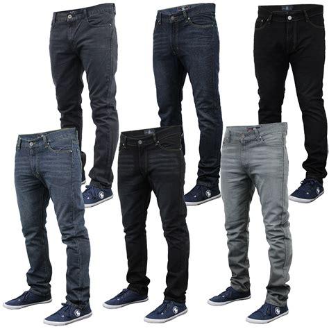 Casual Denim Pant mens denim soul slim fit trousers