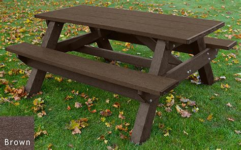 picnic table standard a frame picnic table american