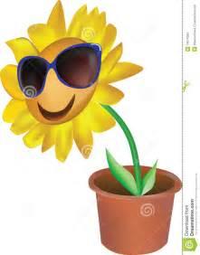 Cartoon Lotus Flower - smiling flower royalty free stock photo image 14674305