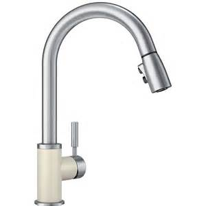 Blanco Kitchen Faucet Shop Blanco Sonoma Biscuit Stainless 1 Handle Deck Mount Pull Kitchen Faucet At Lowes