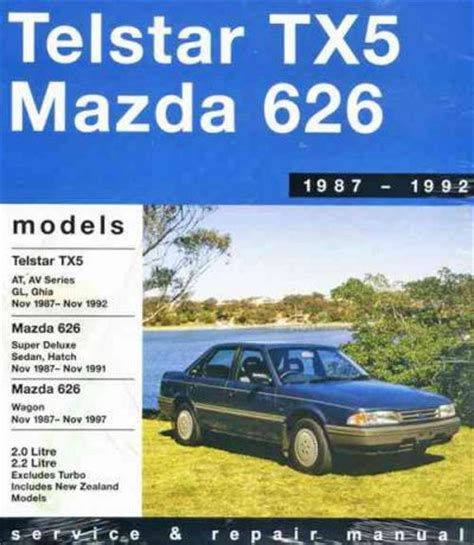 vehicle repair manual 1992 mazda 626 free book repair manuals ford telstar tx5 mazda 626 1987 1992 gregorys service repair manual sagin workshop car manuals