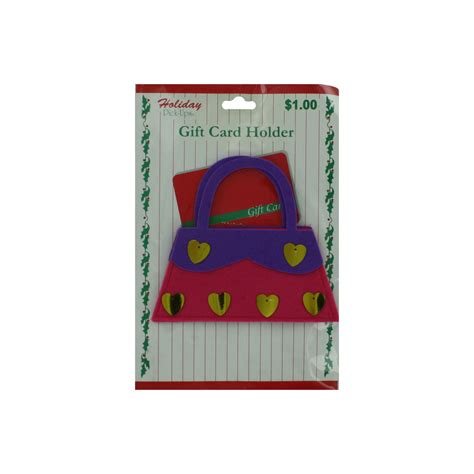 Bulk Gift Card Holders - wholesale holiday felt gift card holder sku 697460 dollardays