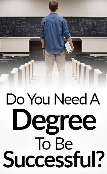 What Degree Do You Need To Get An Mba by 5 Reasons College Does Not Equal Success Do You Need A