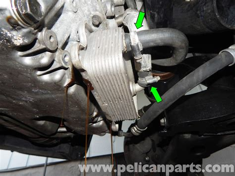 volvo  engine oil cooler replacement        design