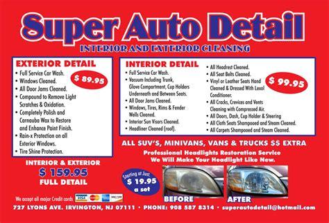 Automotive Detailer Description by Magnificent Auto Detailing Description For Mobile Auto Detailing Invoicemplate Excel Free Detail