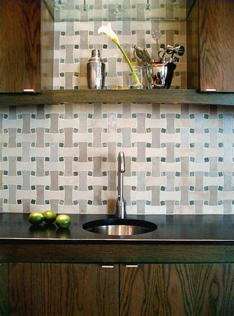 basketweave backsplash pin by pepperpotts on ideas inspiration for the home