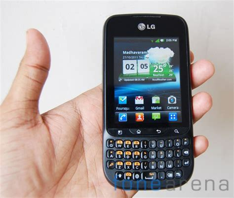Handphone Lg Optimus Pro C660 lg optimus pro c660 review
