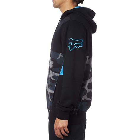 Kaos Fox Seven fox racing kaos pullover fleece black sixstar racing