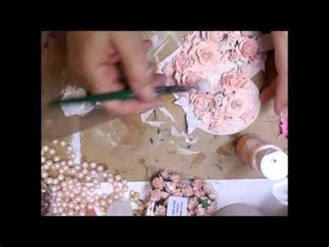youtube tutorial ideas mixed media shabby chic heart tutorial jennings644 youtube