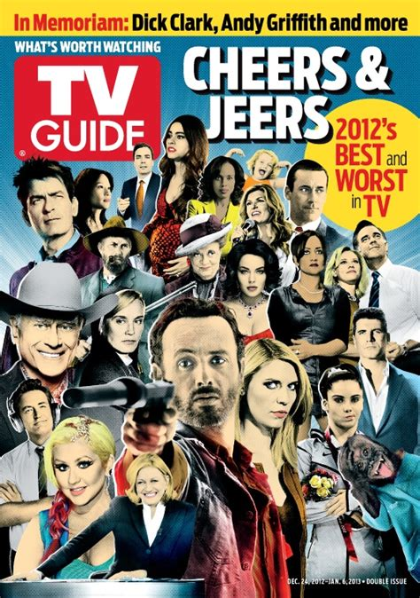 cheer or jeer for color of the year revuu 297 best tv guide covers images on pinterest