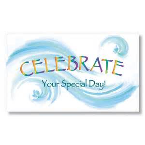 celebrate your day birthday card