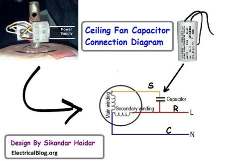 wiring diagram of ceiling fan with capacitor 44 wiring