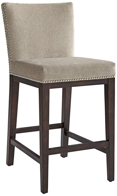 Grey Colored Stools by Beige Grey Counter Stool