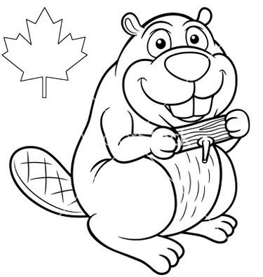 beaver coloring pages preschool canada beaver coloring page online coloring pages