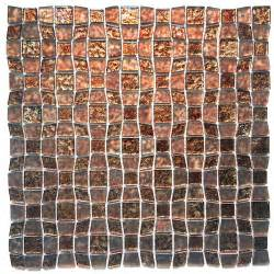 Peel And Stick Mosaic Tile Instant Mosaic Peel And Stick Glass Wall Tile 3 In X 6