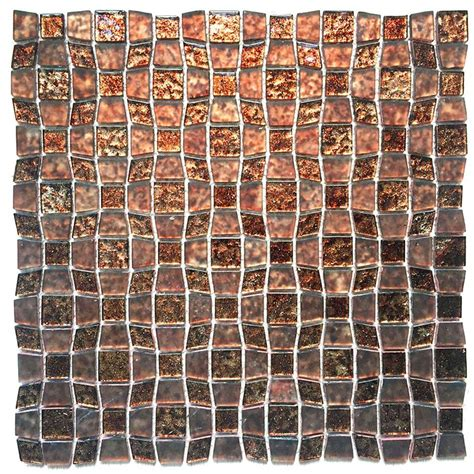 peel and stick glass backsplash tile instant mosaic peel and stick glass wall tile 3 in x 6